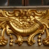 Emblème de la Maison du Cornet.