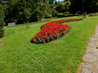 Zigzag de fleurs.