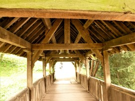 Intérieur du pont couvert.