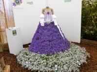 sculpture florale.